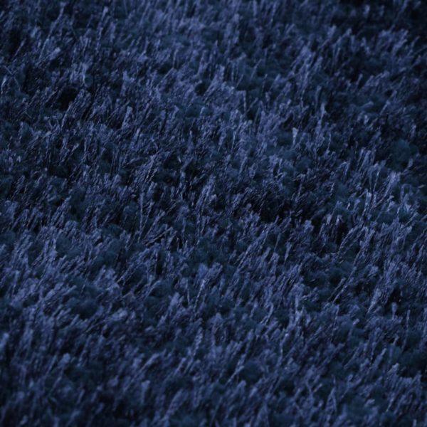 Hochflor-Teppich 160 x 230 cm Blau