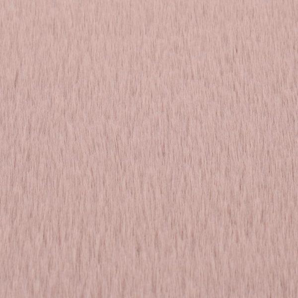 Teppich 160 cm Kunstkaninchenfell Altrosa