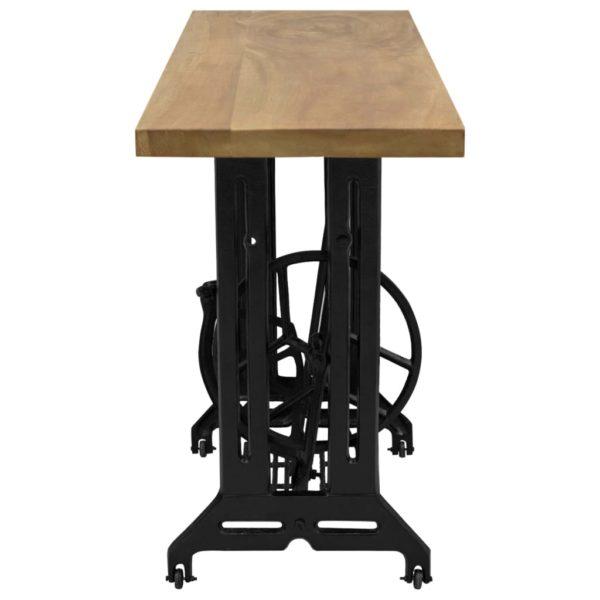 Nähmaschinen-Konsolentisch 110×40×75 cm