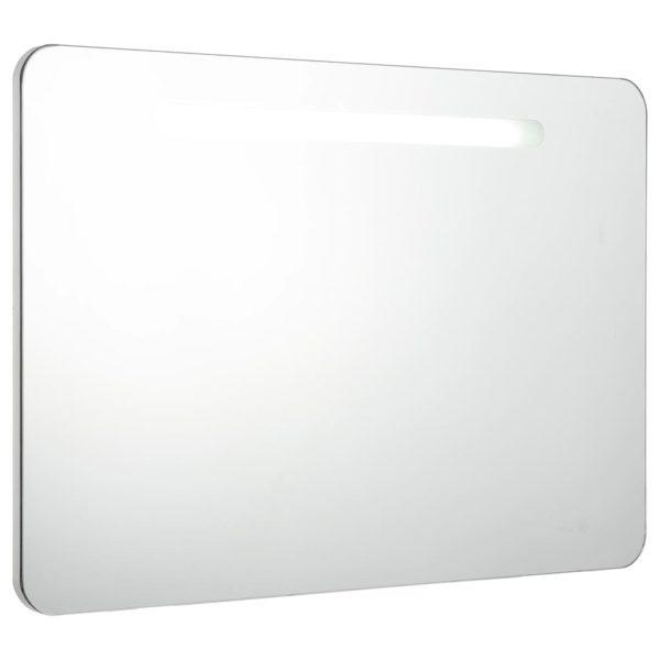 LED-Bad-Spiegelschrank 80 x 11 x 55 cm