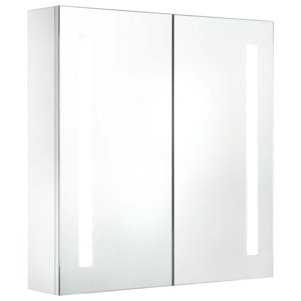 LED-Bad-Spiegelschrank 62 x 14 x 60 cm