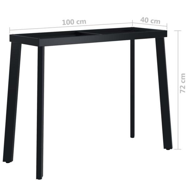 Esstischbeine V-Rahmen 100 x 40 x 72 cm