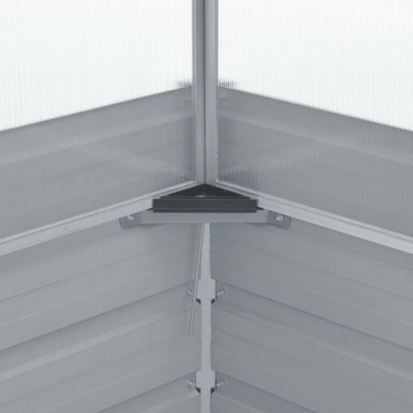 Gewächshaus Grün 100x100x77 cm Verzinkter Stahl