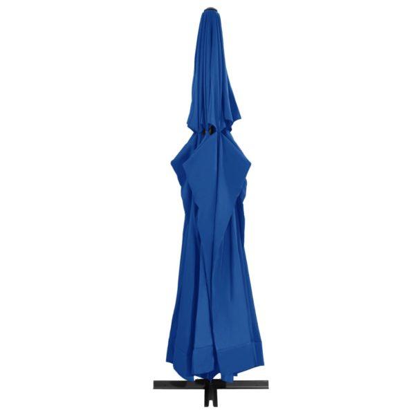 Sonnenschirm mit Aluminium-Mast 500 cm Azurblau