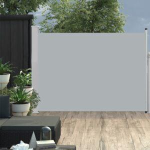 Ausziehbare Seitenmarkise 100×500 cm Grau