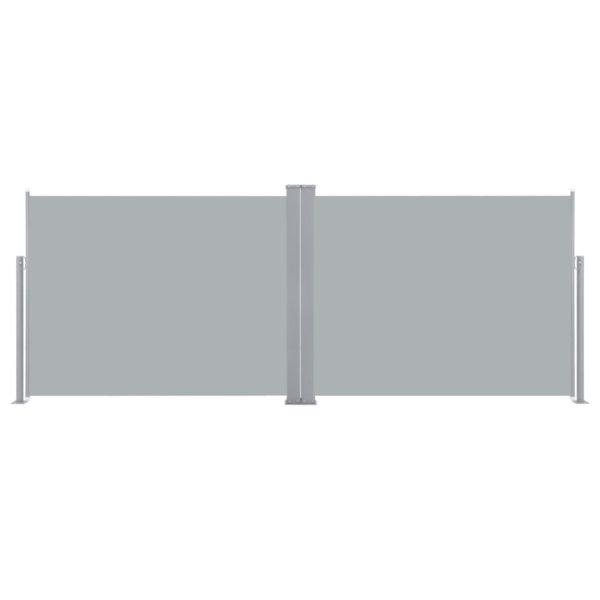 Ausziehbare Seitenmarkise Anthrazit 140 x 1000 cm