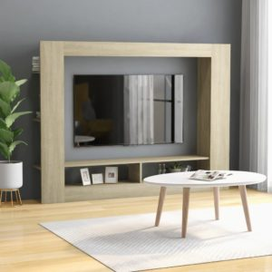 TV-Schrank Sonoma-Eiche 152x22x113 cm Spanplatte