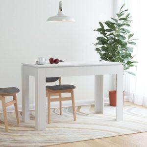 Esstisch Weiß 120×60×76 cm Spanplatte