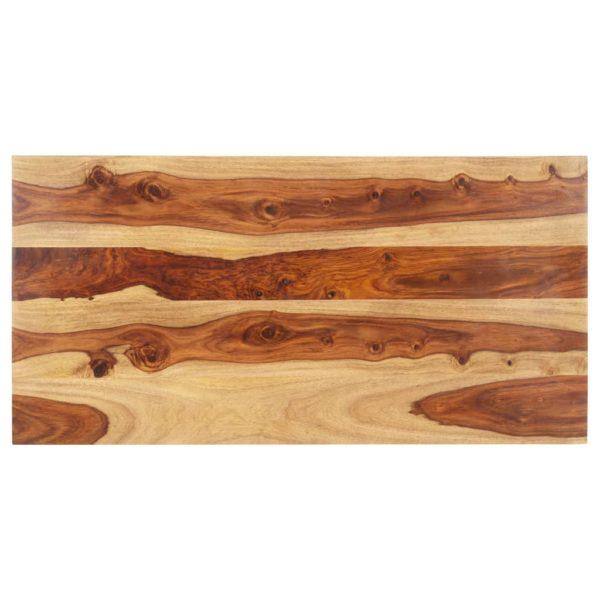 Tischplatte Massivholz Palisander 15-16 mm 60×120 cm