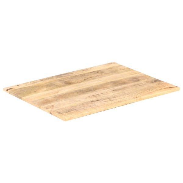 Tischplatte Massivholz Mango 15-16 mm 90×70 cm