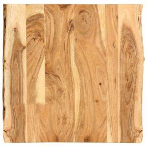 Tischplatte Massivholz Akazie 60 x 60 x 2,5 cm