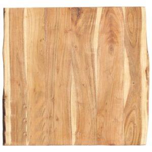 Tischplatte Massivholz Akazie 60 x 60 x 3,8 cm