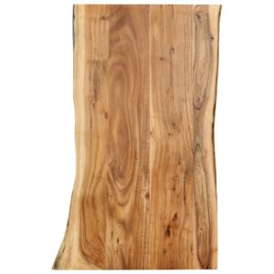 Tischplatte Massivholz Akazie 100 x 60 x 2,5 cm