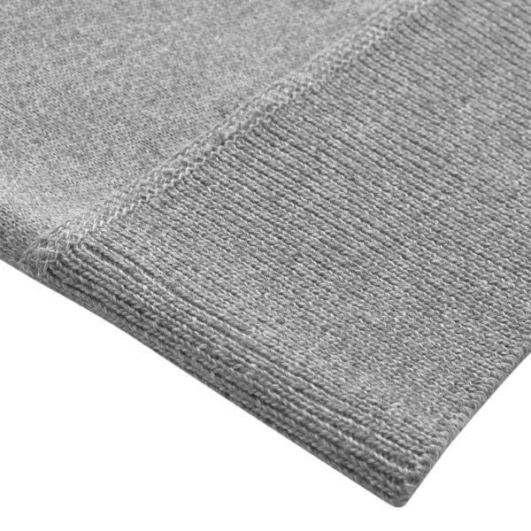 5 Stk. Herren Pullover Sweaters Rundhals Grau M