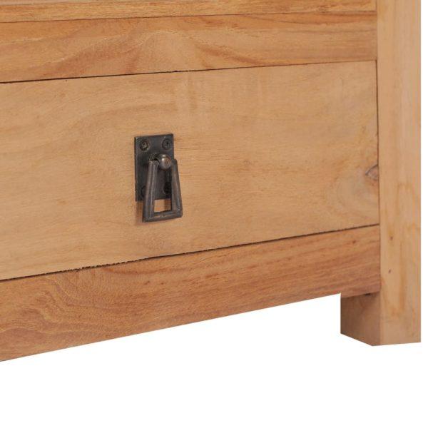 Nachttisch 40 x 30 x 50 cm Teak Massivholz