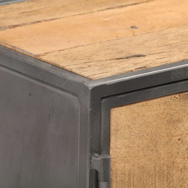 Sideboard 120×30×75 cm Massives Altholz