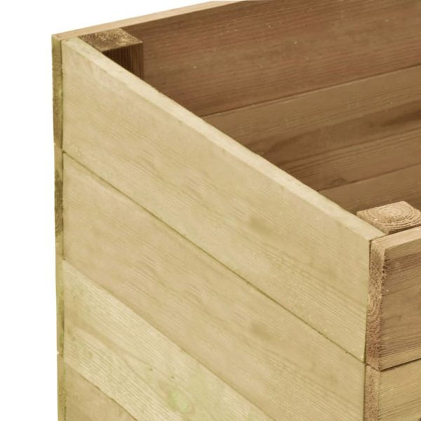 Garten-Hochbeet 100×50×54 cm Kiefernholz Imprägniert