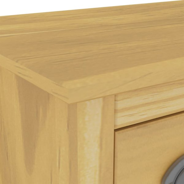 Sideboard Hill Range 130x37x80 cm Massivholz Kiefer