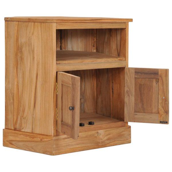 Eck-Sideboard 60×45×60 cm Massivholz Teak