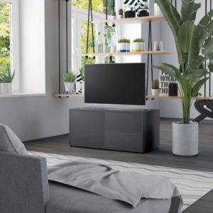 TV-Schrank Grau 80x34x36 cm Spanplatte
