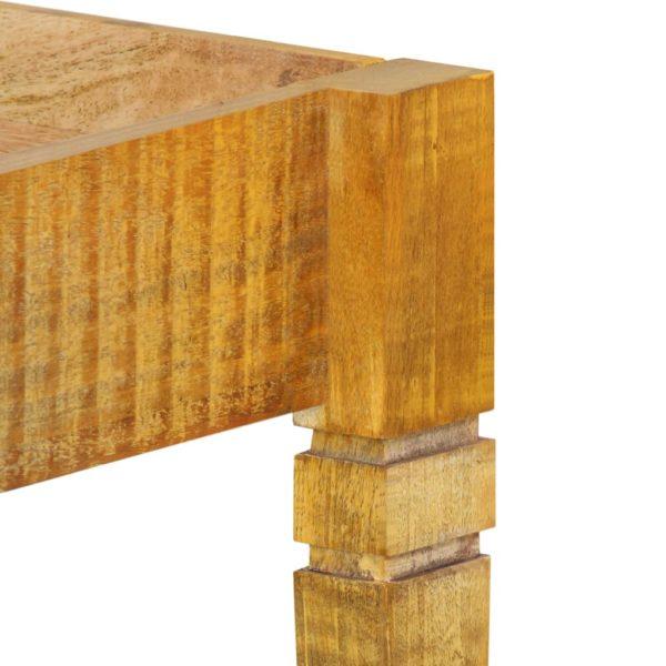 Bettgestell Mango Massivholz 120 cm