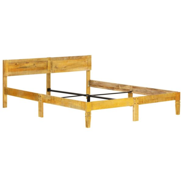 Bettgestell Mango Massivholz 140 cm