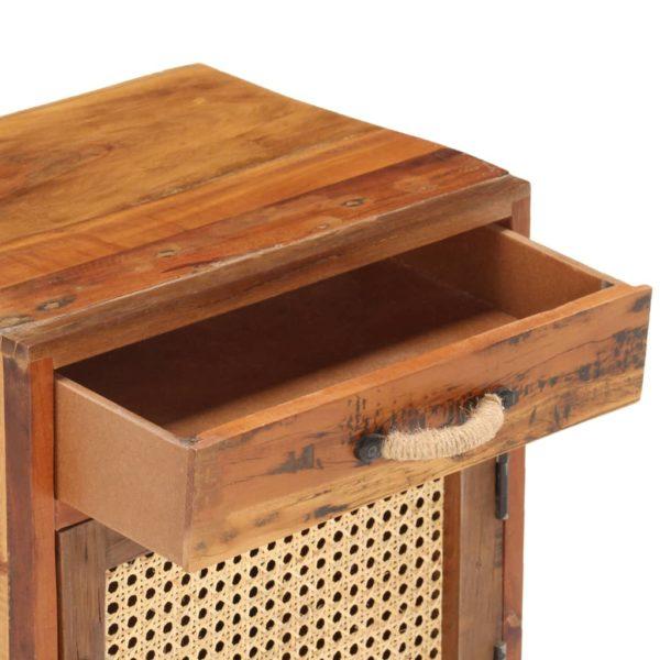 Nachttisch 40×30×50 cm Recyceltes Massivholz