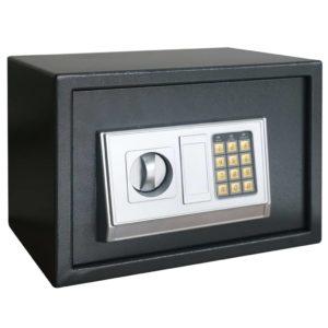 Elektronischer Digital-Safe mit Regal 35x25x25 cm