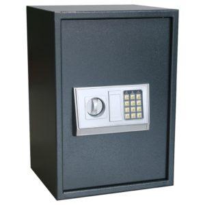 Elektronischer Digital-Safe mit Regal 35x31x50 cm