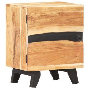 Nachttisch 40x30x51 cm Akazie Massivholz