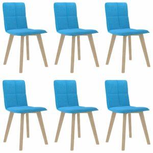 Esszimmerstühle 6 Stk. Blau