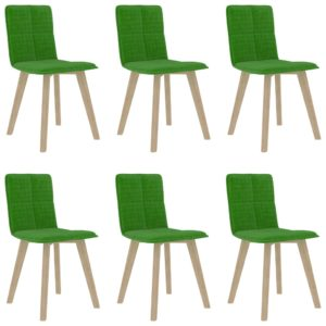 Esszimmerstühle 6 Stk. Grün