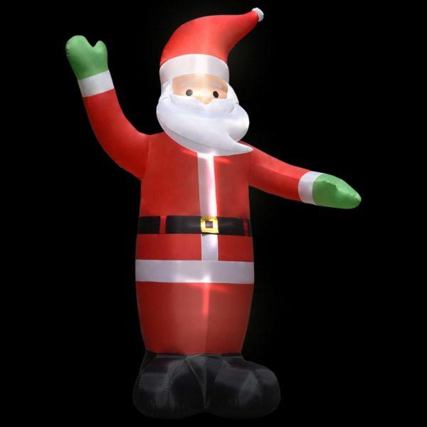 Aufblasbarer Weihnachtsmann mit LEDs Weihnachtsdeko IP44 4,5 m