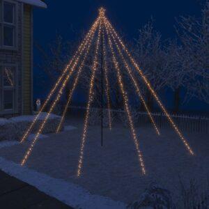 LED-Lichterkette Weihnachtsbaum Indoor Outdoor 800 LEDs 5 m
