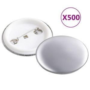 Button-Teile 500 Sets 37 mm