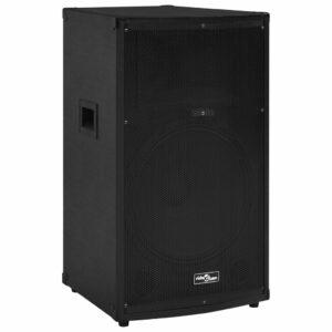 Professioneller HiFi-/Bühnen-Lautsprecher Passiv 1200 W Schwarz