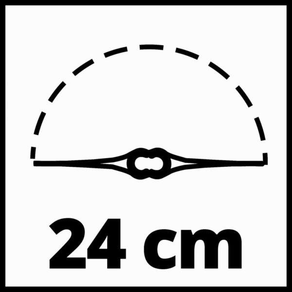 Einhell Akku-Rasentrimmer GC-CT 18/24 Li P-Solo 18 V