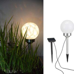 HI Solar LED Drehbare Garten-Kugelleuchte 15 cm