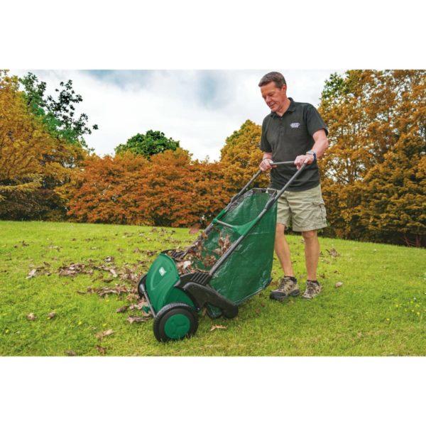 Draper Tools Rasenkehrmaschine 21″ Grün