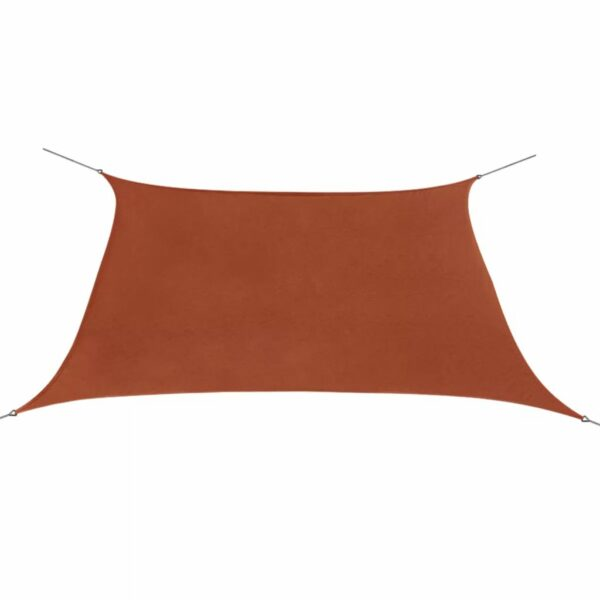 Sonnensegel Oxfordgewebe Quadratisch 2 x 2 m Terracotta