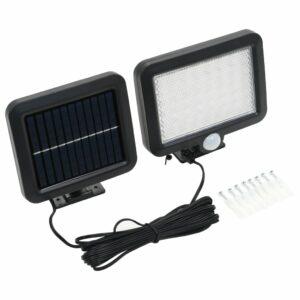 Solarlampe mit Bewegungsmelder LED-Leuchtmittel Weiß