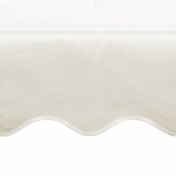 Freistehende Markise 3×3 m Creme