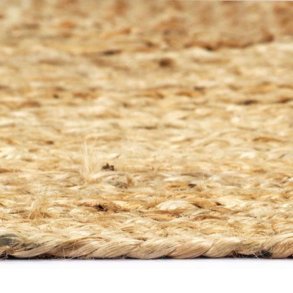 Teppich Handgefertigt Jute Natur 80×160 cm