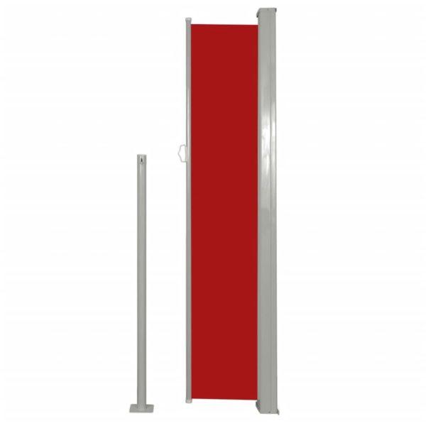 Terrassenmarkise Seitenmarkise 160 x 300 cm Rot