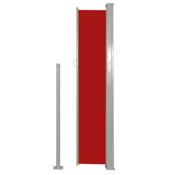 Terrassenmarkise Seitenmarkise 180 x 300 cm Rot