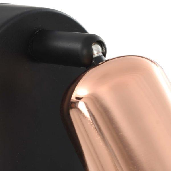Strahler 2 Stk. Schwarz und Kupfer E27