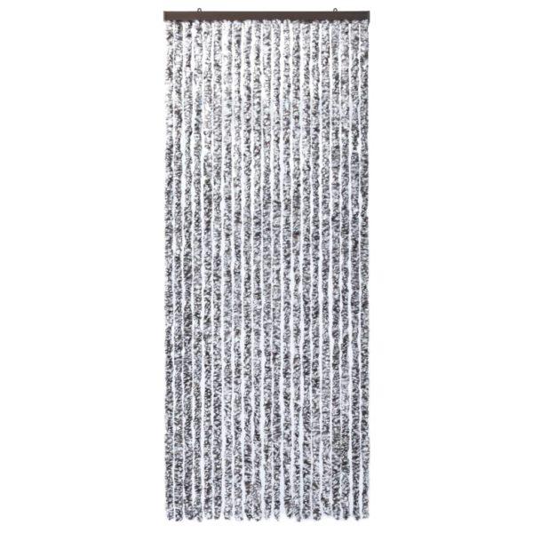 Insektenschutz-Vorhang Braun und Beige 90×220 cm Chenille