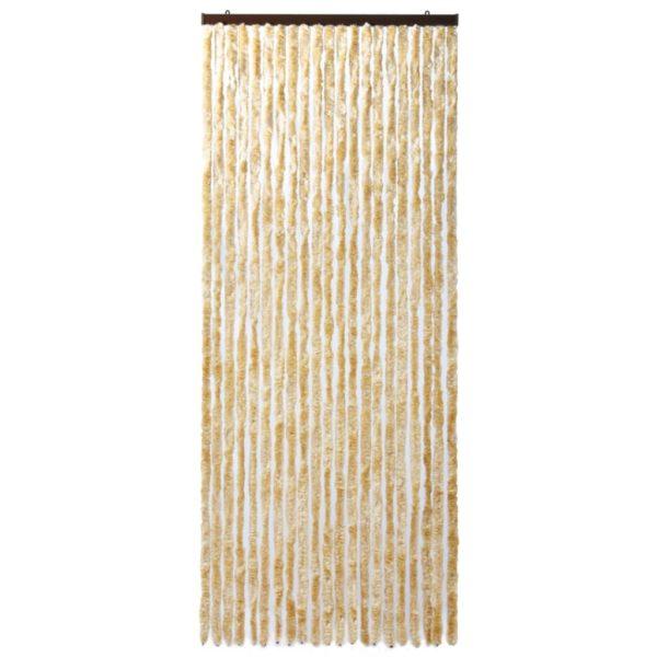 Insektenschutz-Vorhang Beige 90×220 cm Chenille