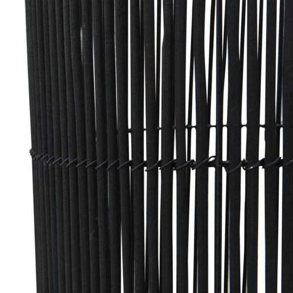 Stehleuchte Weide Schwarz 72 cm E27