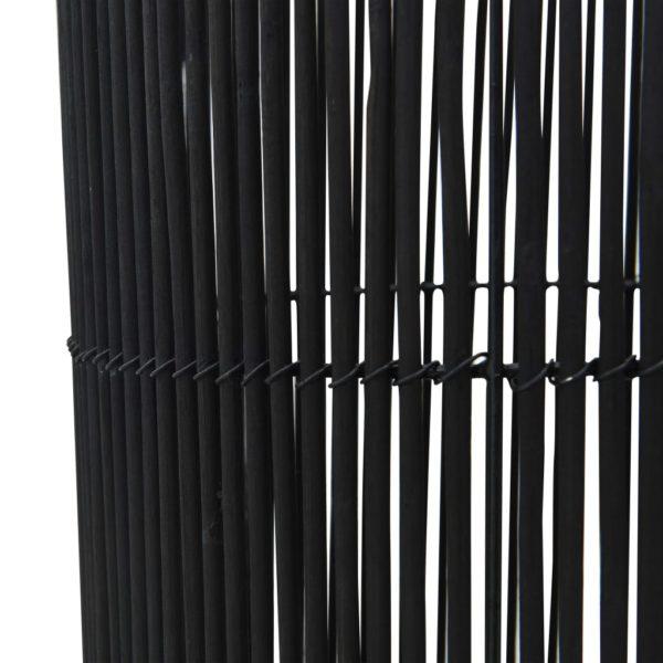 Stehleuchte Weide Schwarz 84 cm E27